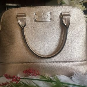 Kate Spade Rose Gold Handbag